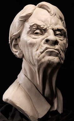 Portrait Sculptures by Philippe Faraut