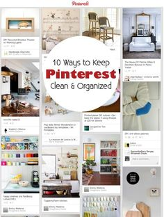 Pins Piling Up? 5 Ways to Keep Your Pinterest Boards Clean & Organized