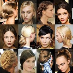Whatever the occasion, we've found the perfect up-do hairstyle for you.