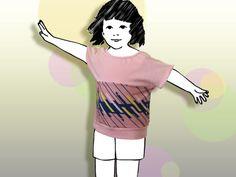Kindermode im einzigartigen punctum-Design von mypunctum Disney Princess, Etsy, Shirts, Shop, Design, Little Princess, Summer Recipes, Simple, Design Comics