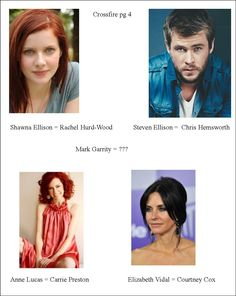 My cast choices for Crossfire series (page 4)