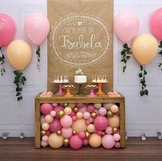 47 Ideas For Birthday Decorations Table Adult Baby Shower Balloon Decorations, Birthday Party Decorations, Baby Shower Decorations, Birthday Parties, Baby Party, Baby Birthday, Birthday Ideas, Holiday Parties, Party Planning