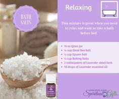 Soda Cup, Bath Salts Recipe, Dead Sea Salt, Relaxing Bath, Epsom Salt, Drying Herbs, Glass Jars, Baking Soda, Essential Oils