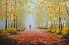 In The Park by Rimantas Virbickas