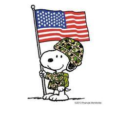 Snoopy Veterans' Day