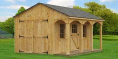 small barns   Board-Batton Run-In Barn   Pleasant Run Structures