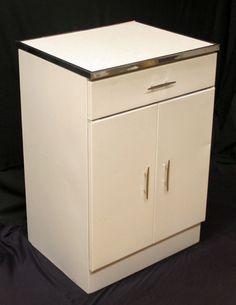Vintage Mid Century Formica Top Metal Microwave Stand Storage Kitchen  Cabinet   eBayVintage  Retro metal kitchen cabinet Cast Iron Sink   eBay   Tinny  . Ebay Kitchen Cabinets. Home Design Ideas