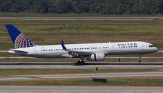 United Airlines (Continental Airlines) Boeing 757-200 N29124