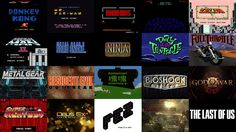 """A Brief History of Video Game Title Design. A brief history of video game title design, created to accommodate our """"Talking Titles: How The ..."""