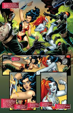 Harley Quinn and Wonder Woman team up [Part Three] <<<< Anyone know which comic this is from?