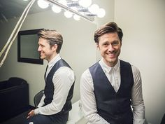 "Photo 1 of 6 | Our Broadway boyfriend Aaron Tveit is all smiles at Miscast! He took on ""As Long As He Needs Me"" as Nancy from Oliver!. 