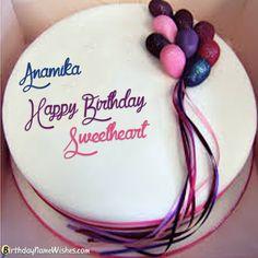 Anamika Birthday Cake Birthday Cakes For Men, Birthday Cake For Boyfriend, Birthday Cake Gift, Happy Birthday Wishes Cake, Birthday Cake With Flowers, Birthday Wishes And Images, Homemade Birthday Cakes, Beautiful Birthday Cakes, Gift Cake