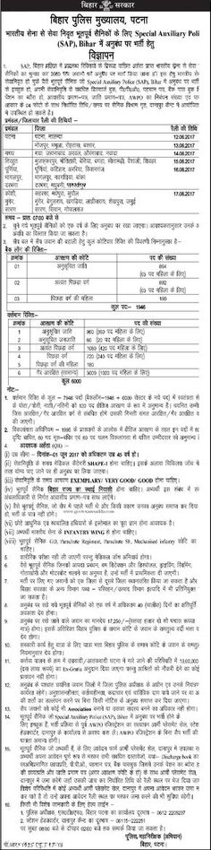Bihar Home Guard Recruitment  Application Form Bihar Home