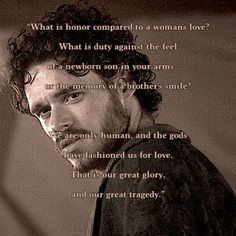 robb stark quotes - Google Search