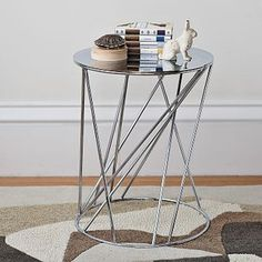Random Base Side Table   West Elm - Modern - Side Tables And Accent Tables - by West Elm