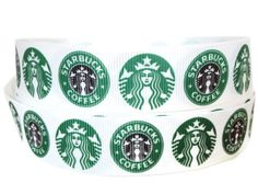 This listing is for 1 Grosgrain Ribbon in the Starbucks Coffee design. This ribbon is perfect for so many crafts! It can be used for gift wrapping, craft projects, hair accessories or any other sewing or quilting projects, dog leashes or collars, belts, DIY bows or clips, gift wrapping, pacifier clips, scrapbooking & much, much more.