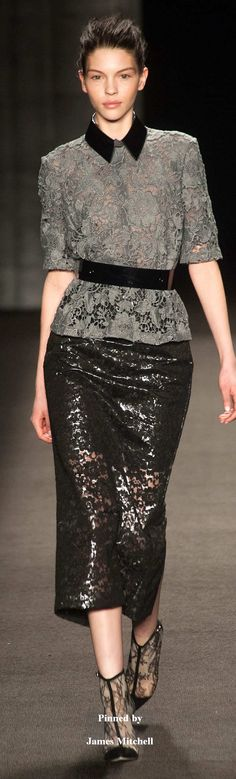Monique Lhuillier CollectionFall 2014 Ready-to-Wear