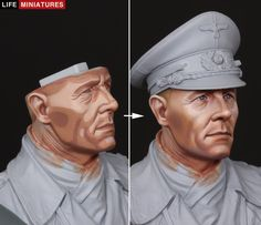 Modeling Techniques, Modeling Tips, Military Figures, Military Diorama, Face Painting Tutorials, Painting Techniques, Warhammer Paint, Military Modelling, Fantasy Miniatures