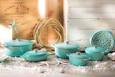 Le Creuset in Cool Mint