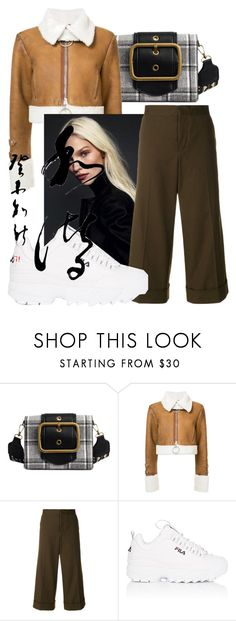 """Untitled #360"" by sh-2p ❤ liked on Polyvore featuring Off-White, Marni and Fila"
