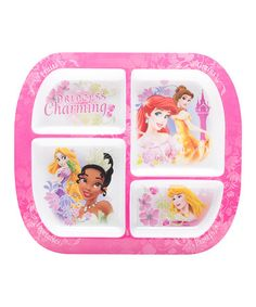 Another great find on #zulily! Disney Princess Sectioned Plate by Disney Princess #zulilyfinds