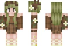 I am Groot Minecraft Skin