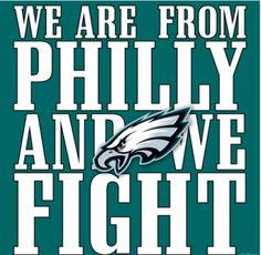 THE PHILADELPHIA EAGLES!