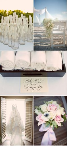 message in a bottle    Sanibel Island Wedding by Wed Perfect + Casa Ybel Resort   Style Me Pretty