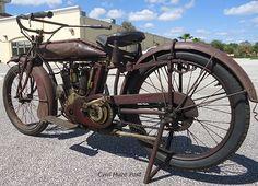 Seen In Daytona. Vintage Indian Motorcycles.