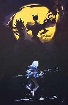 Jack Frost and Pitch Black from Rise of the Guardians Dreamworks Animation, Disney And Dreamworks, Disney Animation, Disney Pixar, Disney Movies, Animation Movies, Disney Tangled, Disney Characters, Arte Disney