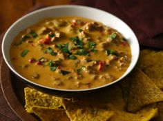 Enjoy this Tex-Mex appetizer made using sausage and Progresso™ Recipe Starters™ cheese sauce served with tortilla chips – ready in just 15 minutes.