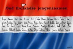 Oud Hollandse jongensnamen