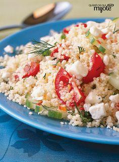 Salade de couscous à la grecque #recette