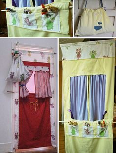 Puppet theatre doorway theatre   by Cool Mummy   on Etsy