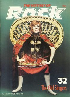 The History of Rock Girl Singers CILLA BLACK Vol.3 ISSUE 32 Pages 621-640 ORBIS