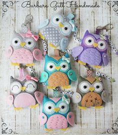Barbara Handmade...: Siedem sówek / Seven owls