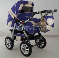 Aliko Milano  — 11780р. ----------------------------------------  Коляска-трансформер Aliko Milano - вы сможете катать в таком транспорте не только новорожденного малыша, но и детишек постарше вплоть до 3 лет. Такая удобная функция как перекидная ручка позволит Вам катать маленького непоседу, как по ходу, так и против хода движения.  Мягкая амортизация, большие надувные колеса и облегченная рама делают коляску не только функциональной, но и максимально надежной.  Просторное спальное место и…