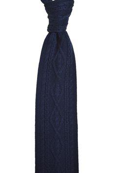 Knottery NY - Aran Wool Knit Tie - Navy, $25.00 (http://theknottery.com/aran-wool-knit-tie-navy/)