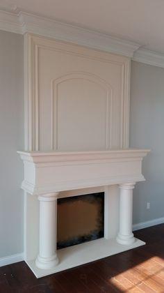 190 best fireplace mantels images modern fireplace mantels rh pinterest com