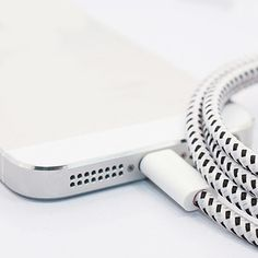 10ft Bungee USB Charging Cable For iPhone 5, 6 and 6 plus.