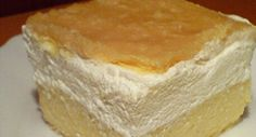 Házi francia krémes recept Cake Bars, Something Sweet, Vanilla Cake, Cooking Recipes, Snacks, Baking, Gypsy, Heart, Garlic