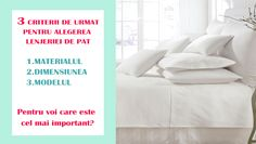 3 criterii importante in alegerea unei lenjerii de pat. Bed, Home, House, Homes, Beds, Houses, Bedding