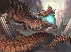 As ilustrações de fantasia e ficção científica de RJ Palmer