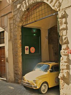 Fiat 500 in Florence #Fiat500