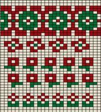 小さな花の図案です | アトリエ|手芸レシピ16,000件!みんなで作る手芸やハンドメイド作品、雑貨の作り方ポータル Fair Isle Knitting Patterns, Knitting Charts, Crochet Patterns, Tapestry Crochet, Tapestry Weaving, Knit Crochet, Embroidery Stitches, Embroidery Designs, Lana