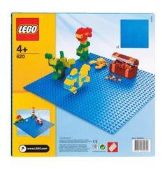 Byggplatta, blå, Lego, 69kr hos bamba.se