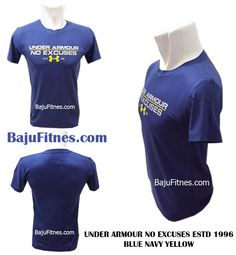 UNDER ARMOUR NO EXCUSES ESTD 1996 BLUE NAVY YELLOW  Category : Under Armour  Bahan Spandex Body fit Ready Only Size M Berat : 68 kg - 82 kg Tinggi : 168 cm - 182 cm  GRAB IT FAST only @ Ig : https://www.instagram.com/bajufitnes_bandung/ Web : www.bajufitnes.com Fb : https://www.facebook.com/bajufitnesbandung G+ : https://plus.google.com/108508927952720120102 Pinterest : http://pinterest.com/bajufitnes Wa : 0895 0654 1896 Pin Bbm : myfitnes  #underarmourindonesia #underarmour #underarmour