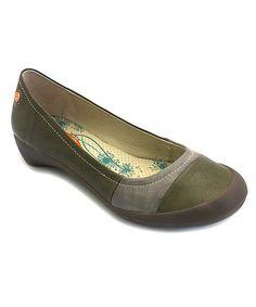 Look at this #zulilyfind! Gorest & Gray Florinda Leather Flat by Softinos #zulilyfinds
