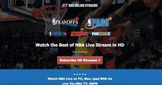 Get The NBA 2016-2017 Full Season With NBA TV Live Streaming in HD