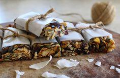 Caramel Cashew Nut Seed Bars